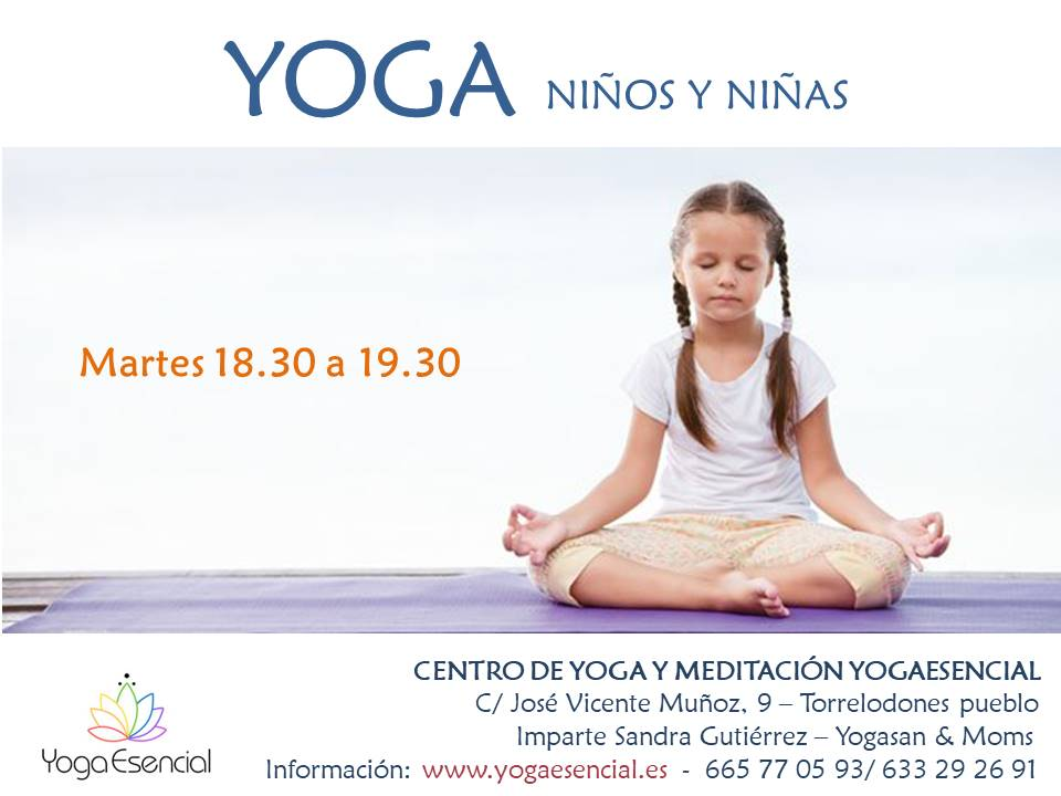 yoga niños y niñas