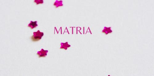 Matria - foro socias