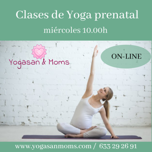 yoga prenatal online